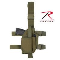 Universal Tactical Adjustable Drop Leg Holster Rothco 10752 10754 Glock Sig 1911
