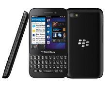 "New Original Unlocked BlackBerry Q5 8GB Smartphone 3.1"" 5MP Wifi NFC GPS Black"
