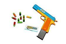 Colt Toy Gun Mauser M1911 Pistol Nerf Replica 10 Colorful Soft Bullets CSGO Game