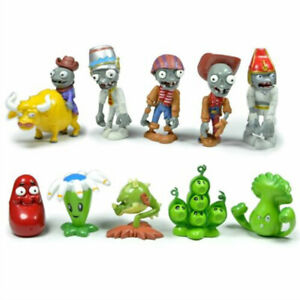 Plants vs Zombies Egypt Private Wild West 10 PCS Action Figure Gift Kids Toy