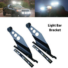 Light Bar Brackets Side Mounting Bracket For Straight LED Off Road Work Light