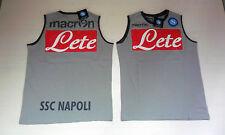 FW14 NAPOLI TG. M MAGLIA MAGLIETTA SMANICATA SMANICATO CANOTTA SLEEVELESS TOP