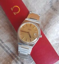 OMEGA SEAMASTER DATE 562 ORIGINAL gold DIAL Automatic Vintage Watch