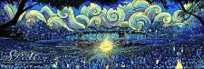 James Eads Saratoga Performing Arts Center Glow in the Dark Poster