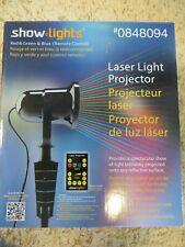 Show Lights Red/Green Seasonal Laser Light Show w/remote