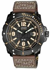 Citizen BM7279-03E Men's Eco Drive WDR 3.0 Drive Military Band Analog Watch