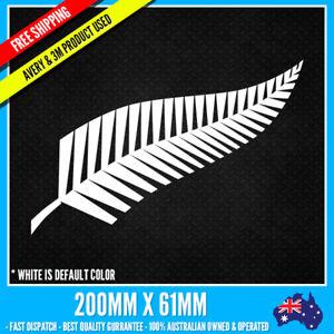 ALL BLACKS NEW ZEALAND FERN STICKER Decal Kiwi NZ 4WD 4X4 JDM Car Truck UTE