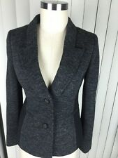 Cartonnier Anthropologie Women's Charcoal Gray Soft Blazer Coat 2 NWT