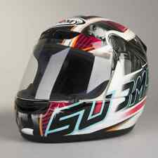 Casco integral fibra motorrad Suomy Apex Pike Red Talla L helmet casque