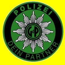 POLIZEI AUFKLEBER GdP GEWERKSCHAFT POLIZEISTERN KNÖLLCHENSTOP STRAFZETTEL INNEN