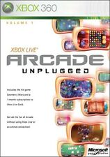 Xbox Live Arcade Unplugged Volume 1 Microsoft Xbox 360 Factory