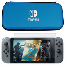 Hard Protective Case Bag & Screen Protector For Nintendo Switch console game