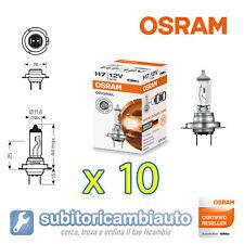10 LAMPADE OSRAM H7 CLASSIC ORIGINAL LINE 64210 10 pezzi