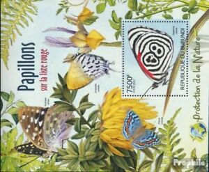Burundi block232 (complete issue) unmounted mint / never hinged 2012 Rare Butter
