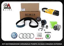 Kit distribuzione originale Audi A3 A4 VW Golf V VI Passat Tiguan 2.0 TDI
