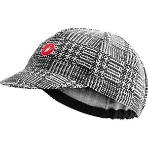Castelli Maison Bicycle Cycling Bike Cap Black / White - Universal