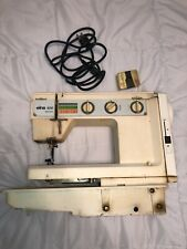 Swiss Made Elna 500 Electronic Sewing Machine With Power Cord