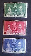 HONG KONG STAMPS MLH - Coronation of King George, 1937, *