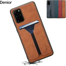 For Samsung Galaxy S20+ Plus Slim PU Leather Credit Card Wallet Case Back Cover