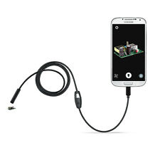 Endoscope Waterproof Micro USB Inspection Camera for Android OTG Smart Phones US