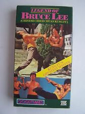 Legend of Bruce Lee VHS Video Tape (Chinese Chieh Chuan Kung Fu)