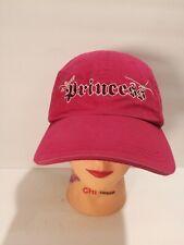 Princess Disneyland DisneyStore Cap Pink Adult Adjustable Baseball Golf Hat