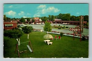 Bowling Green KY-Kentucky, Colletdale Motel, Chrome Postcard