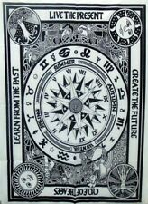 Wall Hanging Beautiful Design Cotton Tapestry Poster Indian Door Decor Hippie