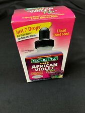 African Violet Plus Liquid Plant Food Micronutrients Beautiful Flower 4 OZ New