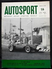 Autosport August 29th 1958 *Portugese Grand Prix*