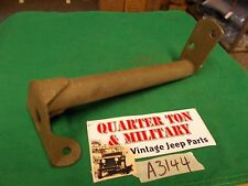 """Jeep GPW WWII FORD rear seat foot rest """"F"""" stamped correct Single G-503"""