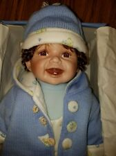 """HENRY"" CATHAY COLLECTION PORCELAIN DOLL 20"" IOB! ADORABLE!"