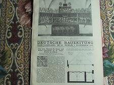 1915 ...Bauzeitung 96r / Lübeck St Annenkloster Teil 4