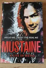 DAVE MUSTAINE HAND SIGNED AUTOGRAPH A LIFE IN METAL HARDBACK BOOK METALLICA BAND