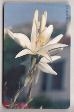 EUROPE  TELECARTE / PHONECARD .. GRECE 100U FLEUR FLOWER 04/96 CHIP/PUCE