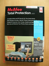 McAfee Total Protection 2007 10-in-1 (Windows XP/2000/Vista) open box