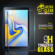 """For Samsung Galaxy Tab A A6 S3 S4 7.0 8.0"""" 10.1"""" Tempered Glass Screen Protector"""
