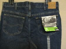 UNION MADE VTG. NWT LEE RIDERS RELAXED FIT TAPERED LEG MEN'S JEANS 38 X 34 USA