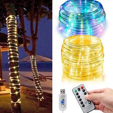 LED Lichtschlauch Led Lichterschlauch Außen Garten Partydeko IP65 Strombetrieben