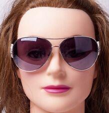 Guess Womens Aviator Sunglasses White Rhinestone 3G Logo GU7006