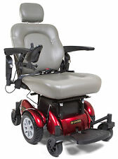 Golden Compass HD Center Wheel Drive Mobility Electric Power Chair 450 LBS Red
