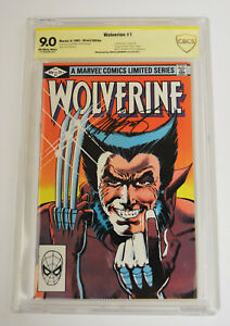 Wolverine #1 [1982] Marvel CBCS Signed By Chris Claremont 9.0 NM