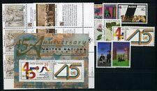 UNO New York Jahrgang 1990 postfrisch/ MNH (UN50