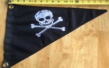Pirate Pennant Pirates Of The Caribbean Double Sided Nylon Boat Flag New