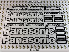 PANASONIC Stickers Decals  Bicycles Bikes Cycles Frames Forks Mountain BMX 54U