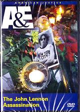 John Lennon Assassination (DVD, 2006, A&E Store Exclusive) New