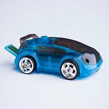Brookstone Micro Robotic RC Racecar Blue Carbot Smart Device Toy (Brand New)