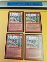 4x Guerrilla Tactics (Version B) | Alliances | MTG Magic The Gathering Cards