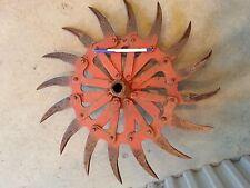 Antique/ Tiller Head / Rotary-hoe wheel, Cultivator Wheel Farm Equipment