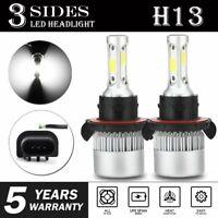 H13 9008 LED Headlight Bulbs for ATV Polaris Ranger 570 800 900 RZR 570 800 900